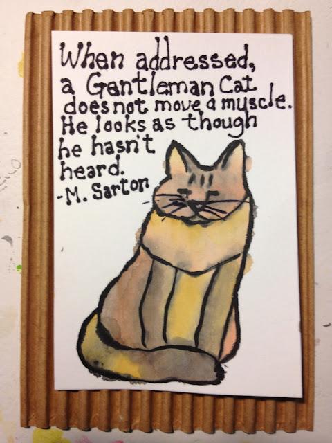 Gentlemen cat etegami
