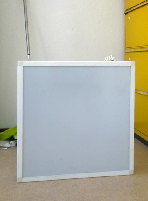 sibylles flohmarkt verkauft leuchtkasten als reklame zum zeichnen oder f r dias. Black Bedroom Furniture Sets. Home Design Ideas