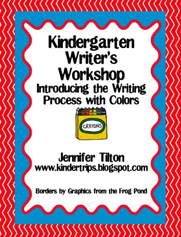 writing process for kindergarten