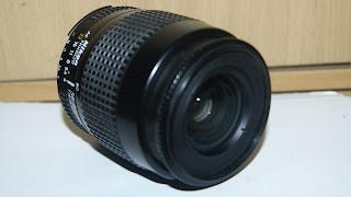 Tampak depan lensa nikon 35-80mm