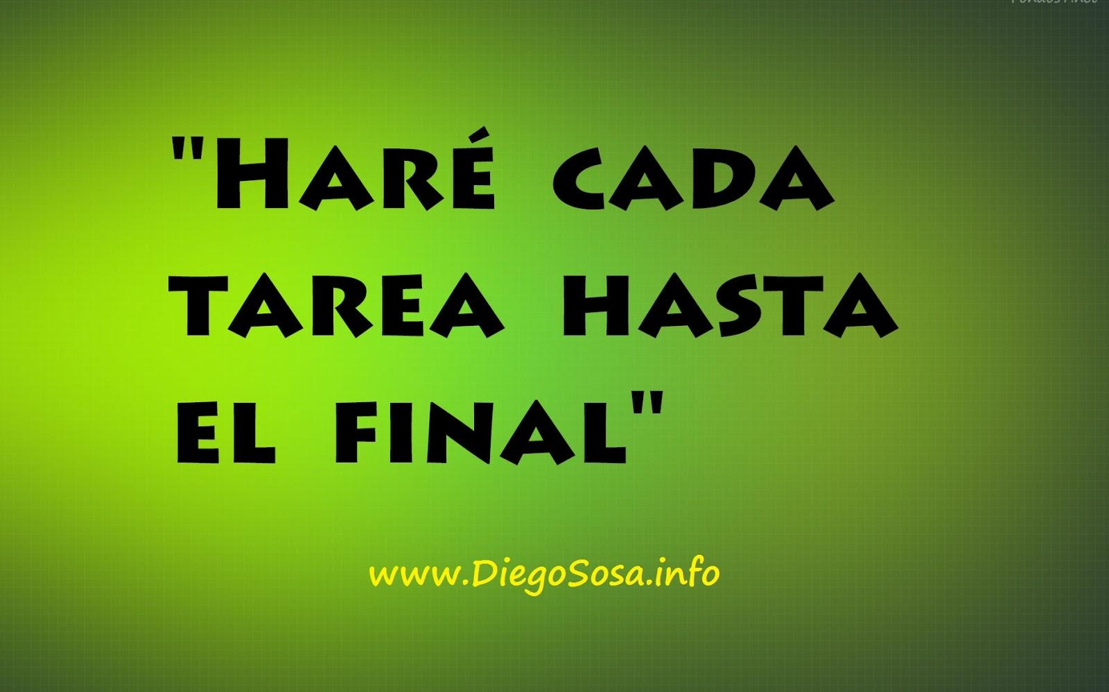 ELIJA UNA FRASE CLAVE - Diego Sosa