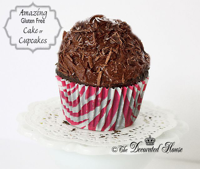 The Decorated House ~ The Best (Cooked) Quinoa Gluten-Free Cake or Cupcakes!