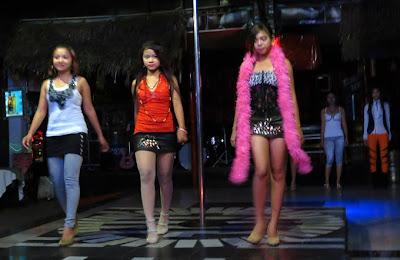sexy nightclub show