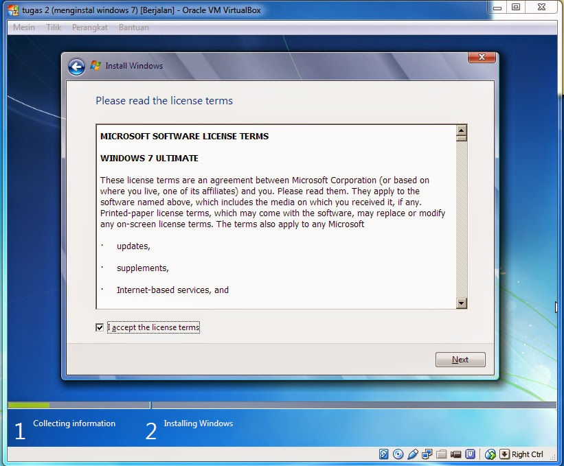 Gigih firman blog: Install mesin virtual windows 7