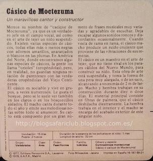 Blog Safari Club, características del Cásico de Moctezuma