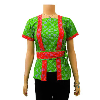 DBT 2441 - Trend Baju Batik Modern 2013