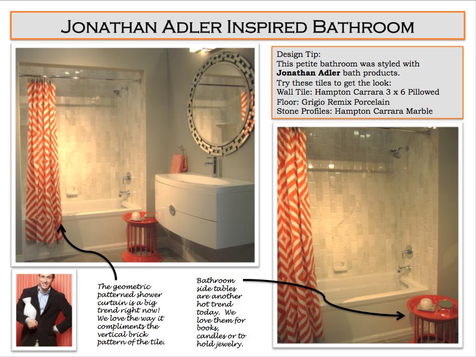 Jonathan Adler Styled Bathroom