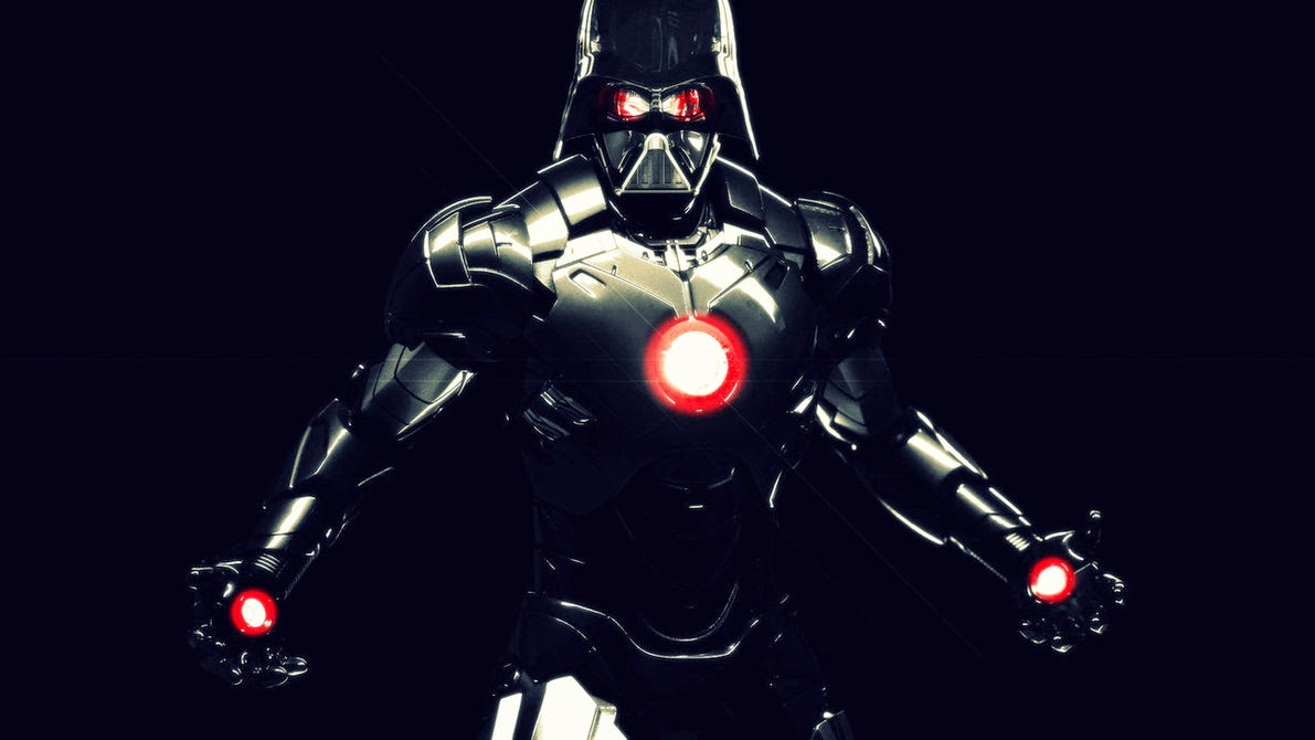 Darth Vader Iron Man Crossover Join The STARK SIDE