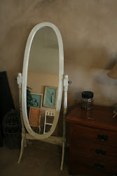 Standing mirror - Sold