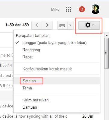 Cara Batalkan Email
