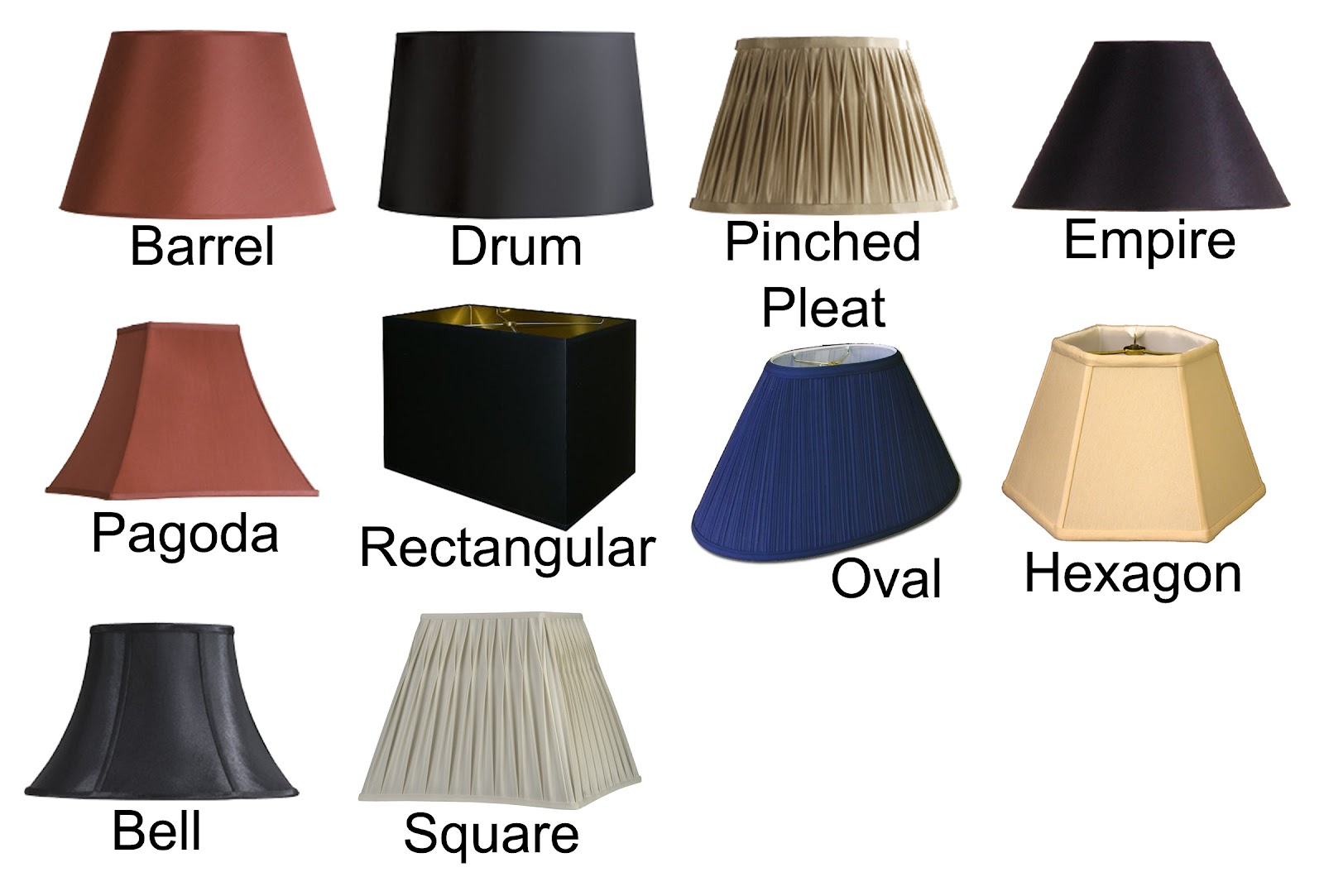 as the curtain hangs how to pick the right lamp shade