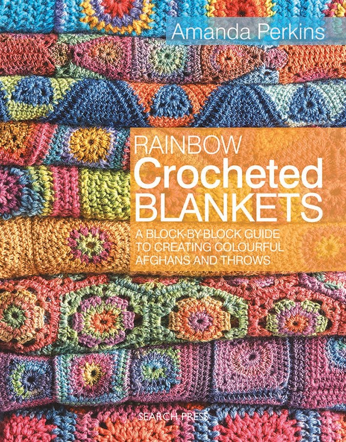 Rainbow Crochet Blankets Book on Etsy