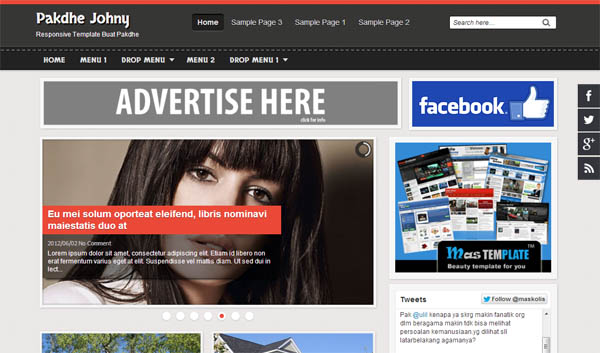 Seo and google adsense optimized blogger templates free blogging blogger template no pronofoot35fo Gallery