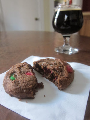 Salted Christmas Stout Cookies | The Economical Eater