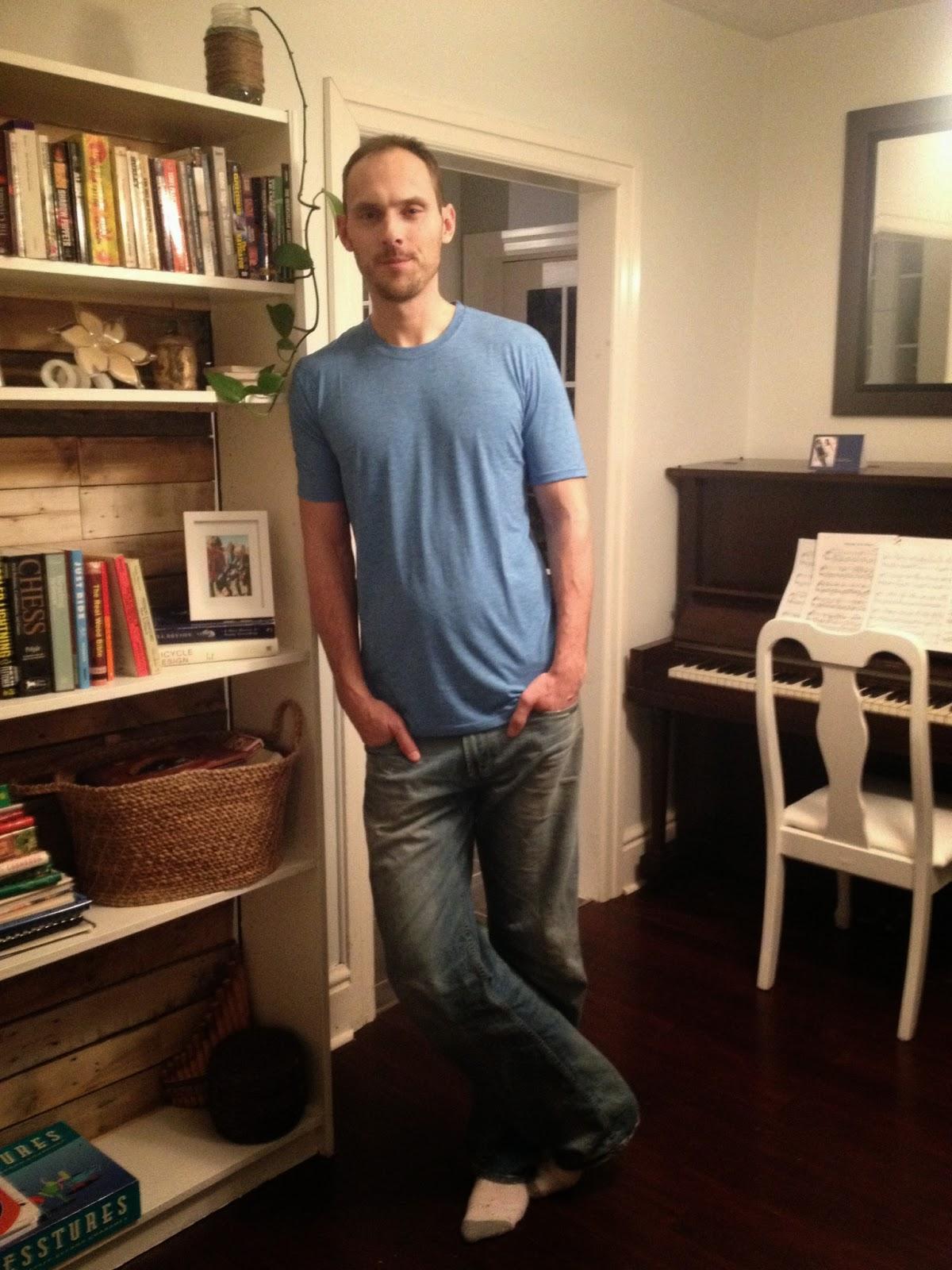 Medium Tal T-shirt for Tall Skinny Guy