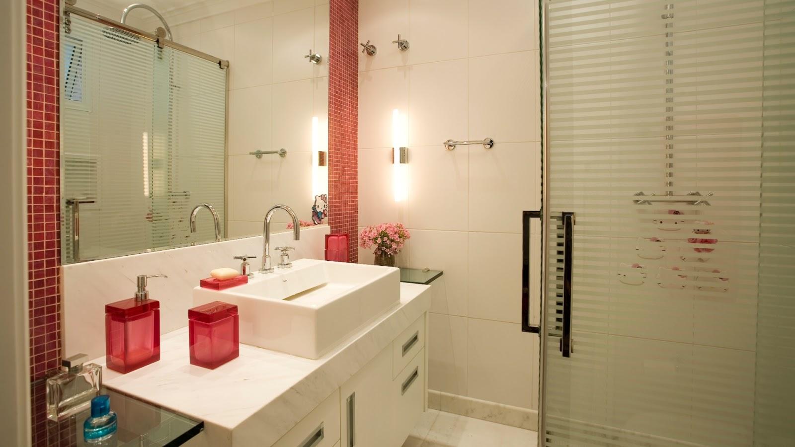 Donna Mariquinha : Pastilhas no Banheiro: eu quero! #1D6A6C 1600x900 Banheiro Com Pastilhas Box