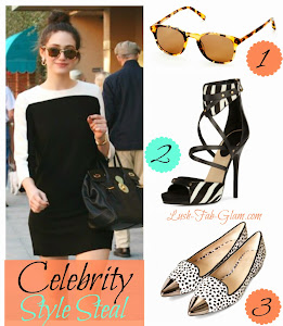 Celebrity Style Steal: Get Actress Emmy Rossum Monochrome Look.