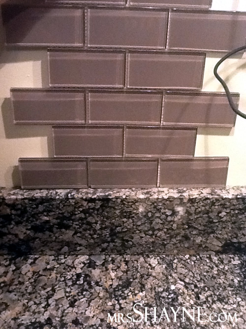 Backsplash Ideas For Busy Granite Part - 25: Awful Backsplash