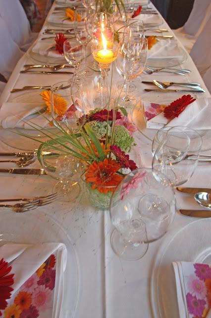 Gerbera-Hochzeit