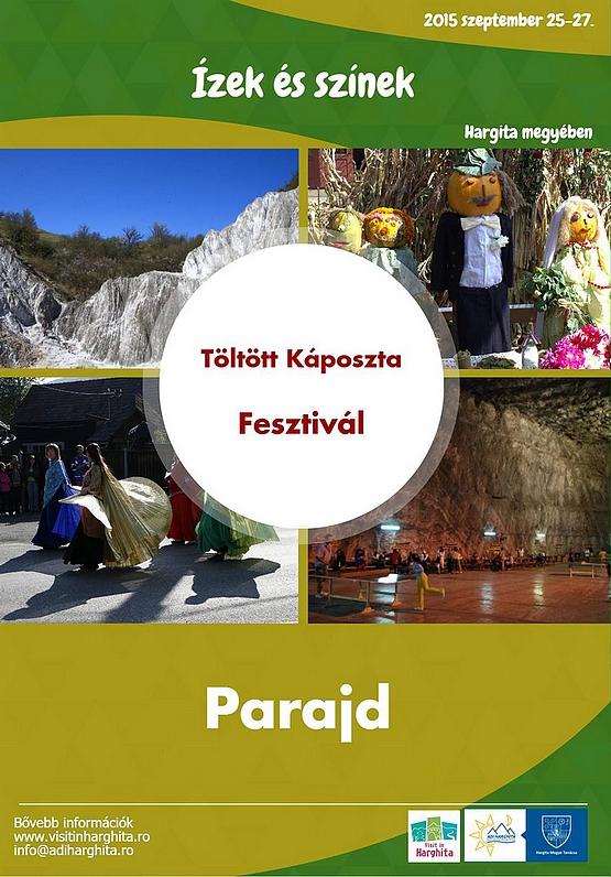 Parajdi öltöttkáposzta fesztivál 2015