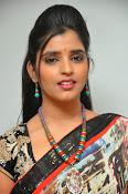 Syamala glamorous photos in saree-thumbnail-5