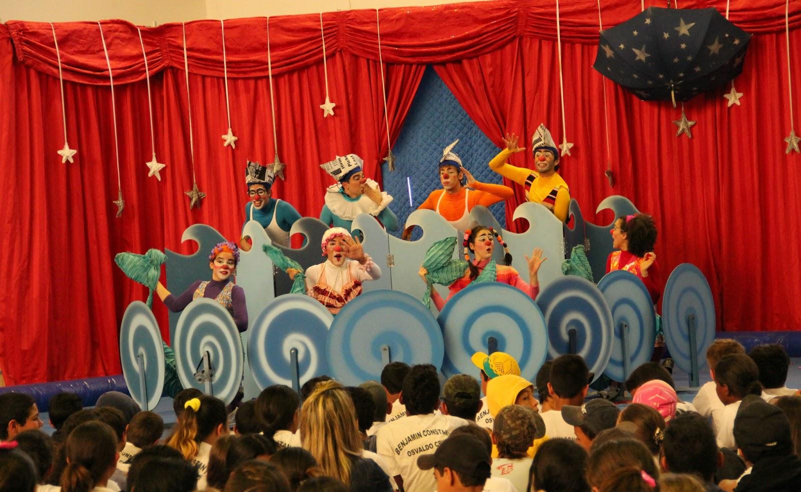 Favoritos Diário de Tatuí: Musical infantil faz homenagem ao circo na Praça  DQ04