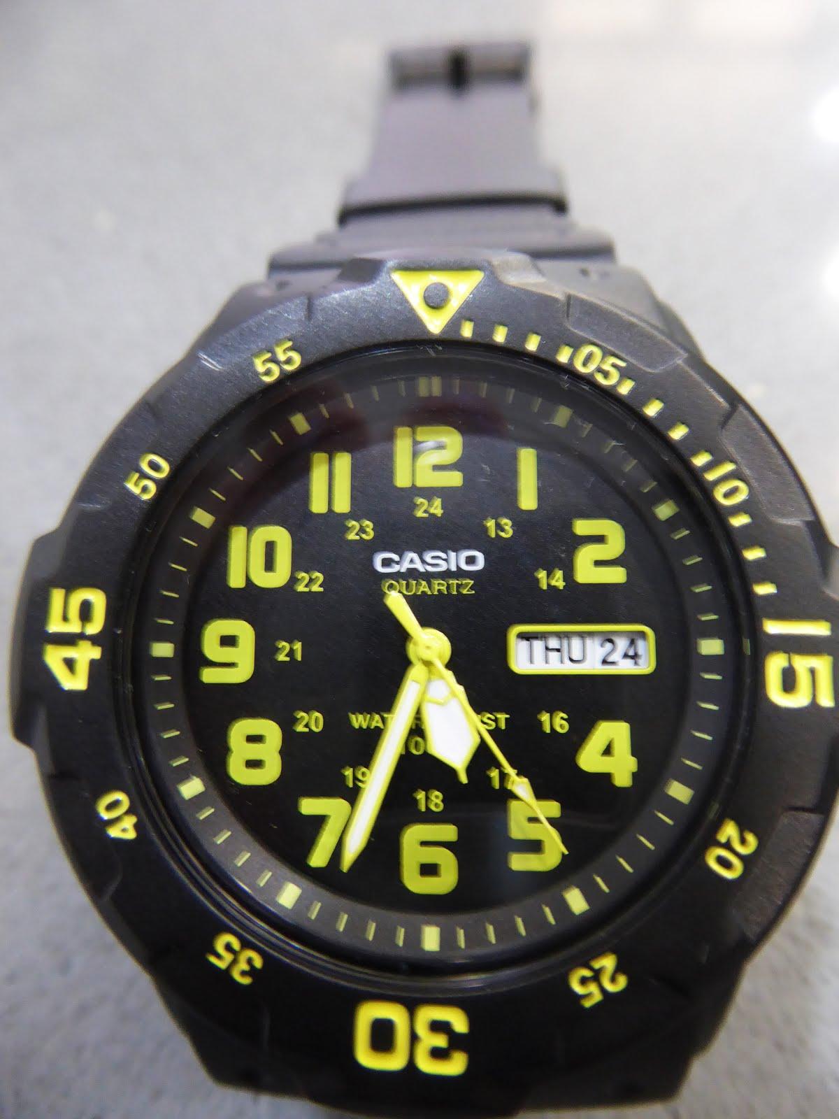 Reloj Casio wr 100