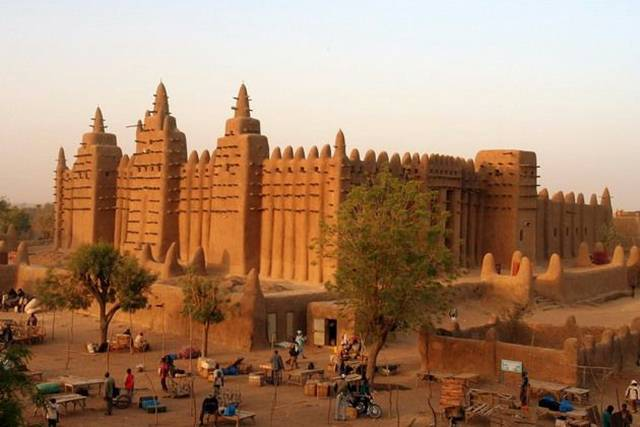 Djenne Mosque 007 - Mosque of Djenne !!!!
