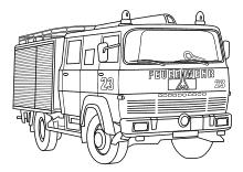 Stadtjugendfeuerwehr Vienenburg - Spiel und Spaß - malvorlagen feuerwehrauto ausdrucken