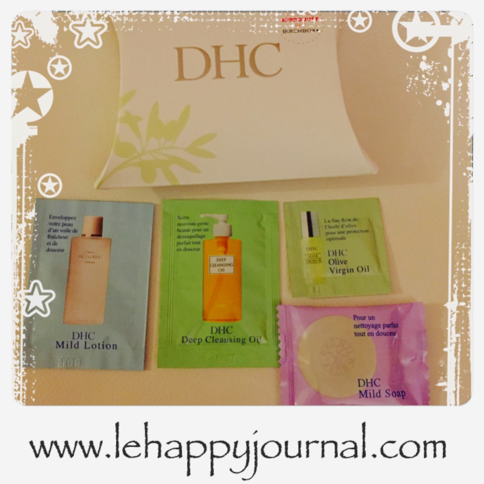 birchbox, novembre, box, paul and joe, stella and dot, ghd, DHC, sabon, pixi, beaver, happy journal
