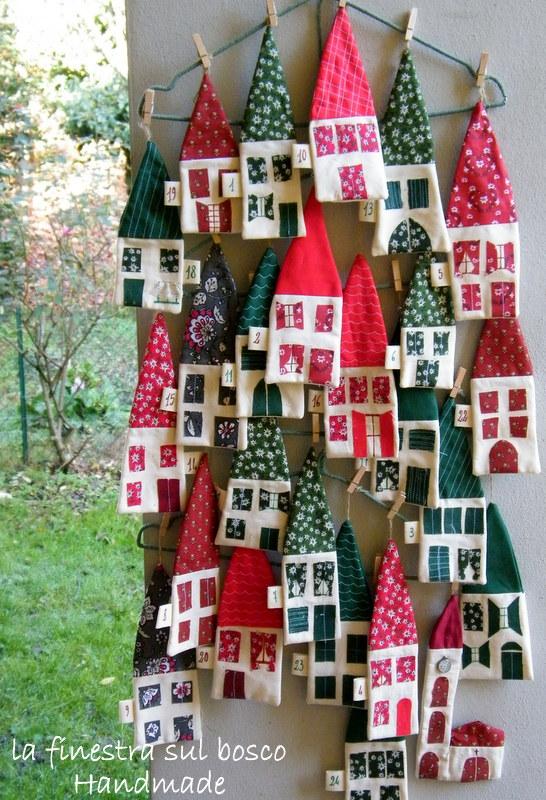 La finestra sul bosco handmade calendario dell 39 avvento for Calendario avvento fai da te