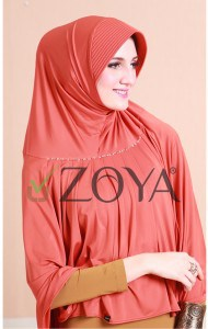 hijab zoya panjang islami