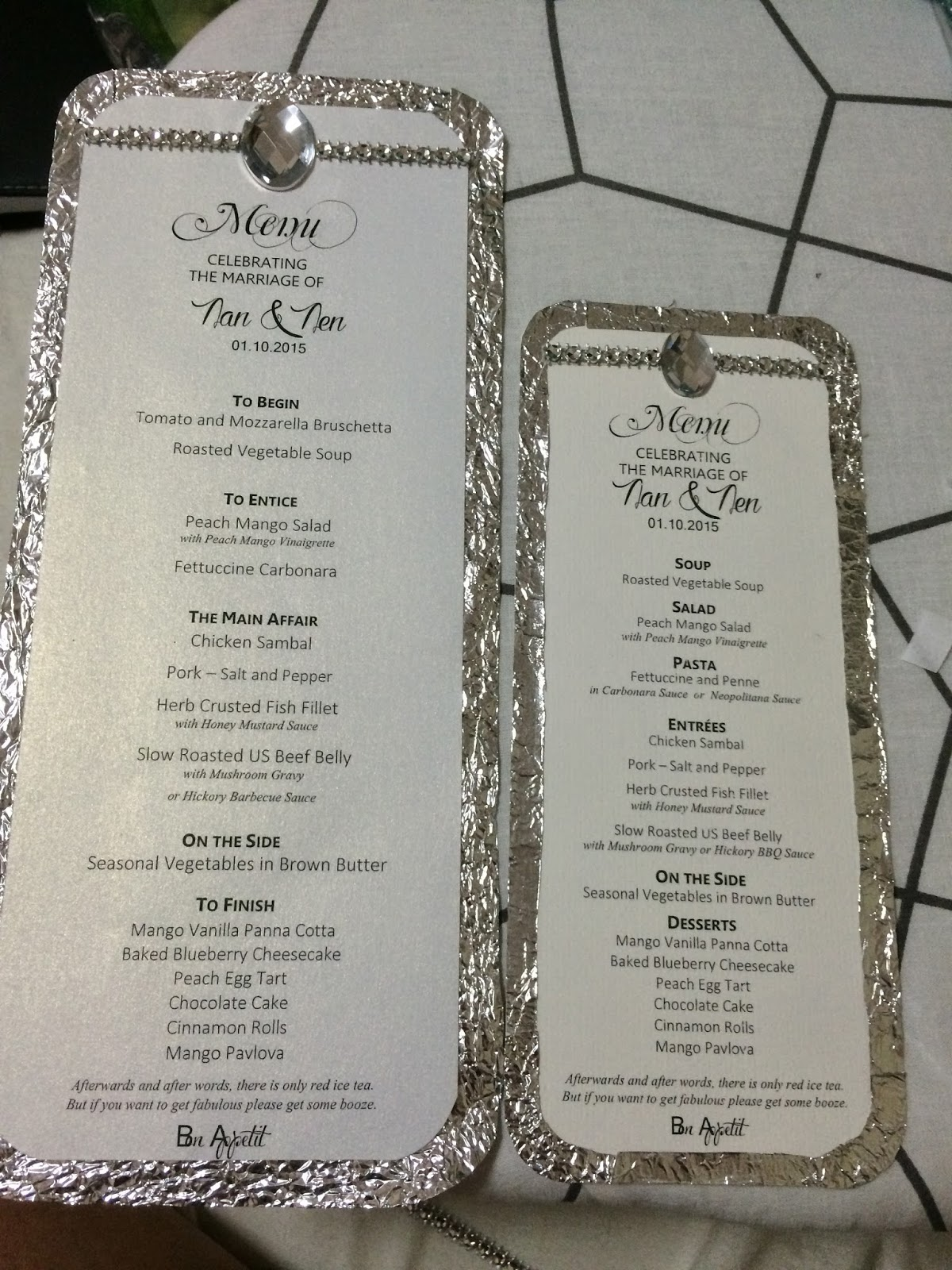 how to make menu card - Yelom.agdiffusion.com