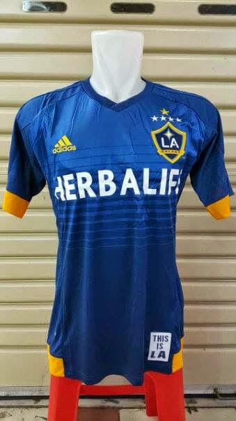 gambar asli photo jersey La Galaxy away terbaru musim depan 2015/2016