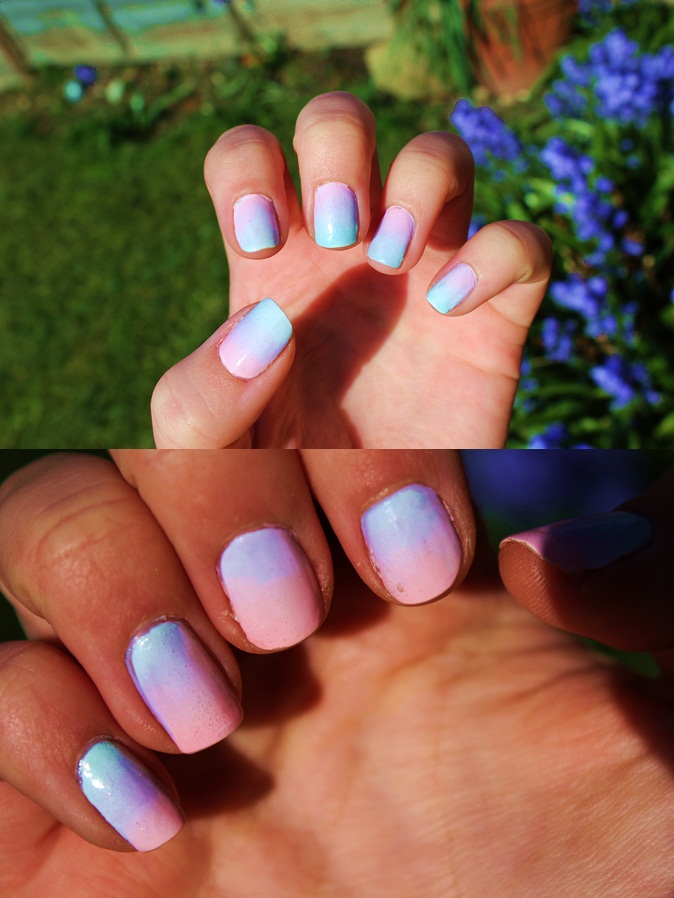 jessica rachel: Cola Bottle/Ombre Nails!