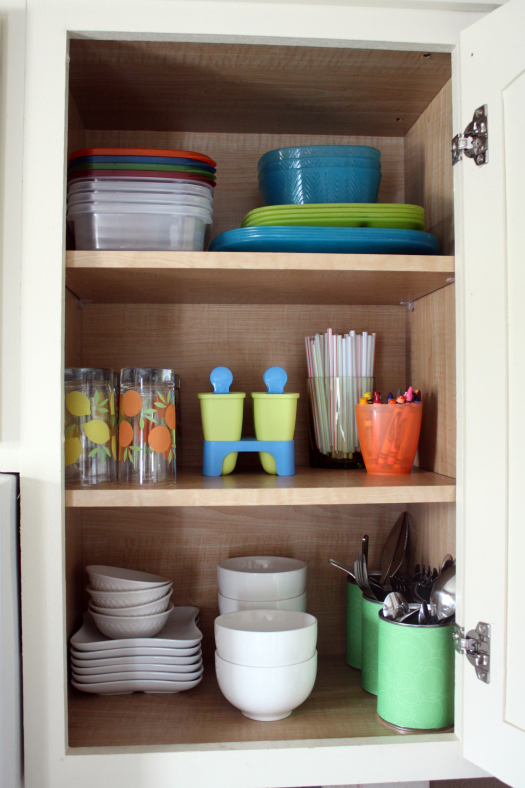iheart organizing its here the kitchen cabinet tour - Cabinet Organizers Kitchen