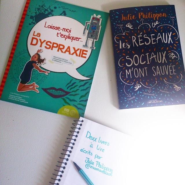 Lecture du dimanche: Deux livres à lire écrits par Julie Philippon