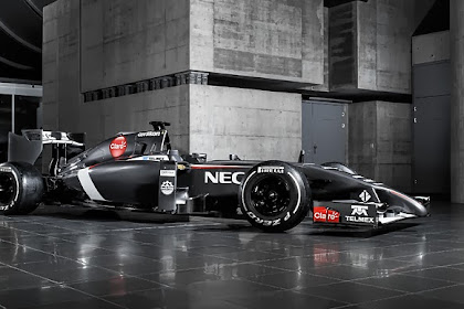 CAR: Sauber C33 Is The Same But Different, Automotifblog.com