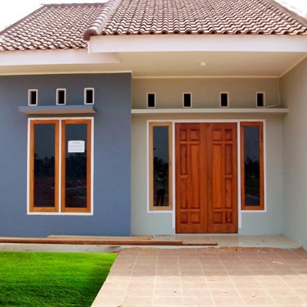 Desain Rumah Minimalis Sederhana Tampak Dari Belakang