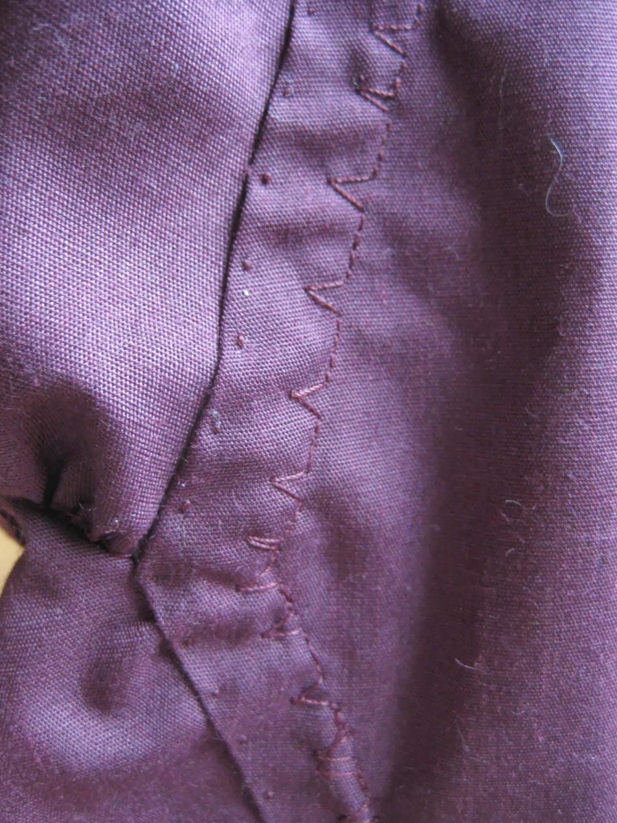 Simplicity 4059 Shirt A Tyndall Underarm Gore Detail
