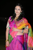 Malavika nair photos in half saree-thumbnail-15