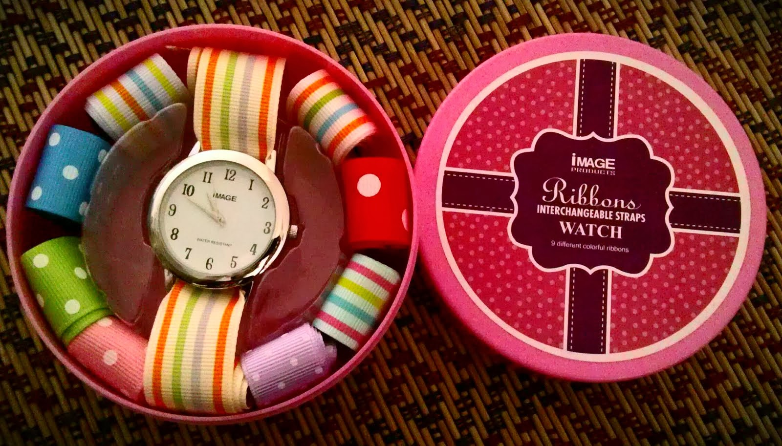 Ribbon Watch : .Free  9 Tali Jam YAng Sangat Cute!
