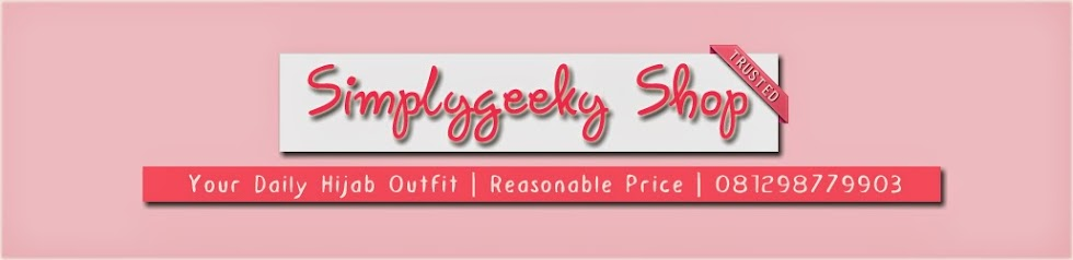 Muslimah Fashion Online Shop | Simplygeeky Shop