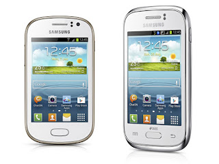 Samsung unveils Galaxy Fame and Young handsets