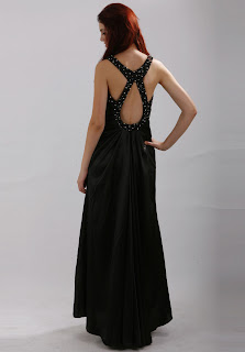 Halter Elastic Silk Like Satin Floor Length Prom/Evening Dress