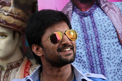 First stills from movie 'Paisa' Telugu movie starring Nani