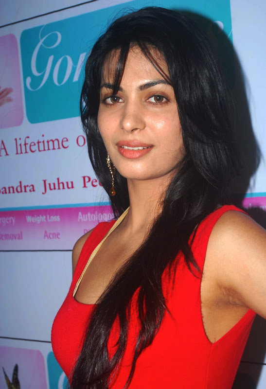 Indian Sexy Masala Model and Hot Girl  Gorgeous Skin Care Clinic Opening unseen pics