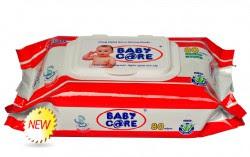 Khăn-giấy-ướt-Baby-Care-80 tờ