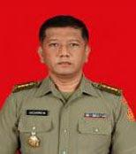 Direktur Ditbinganismil ke II: Kolonel CHk Hazarmein, SH