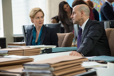 Picture of Laura Linney and Stanley Tucci in Fifth Estate